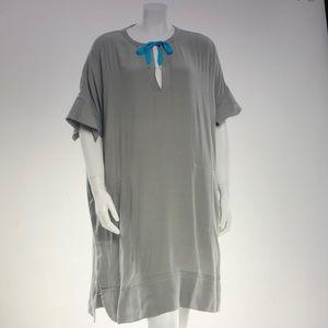 Diane Von Furstenberg grey dress M